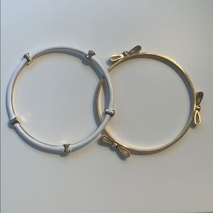 2 Henri Bendel bangle bracelets